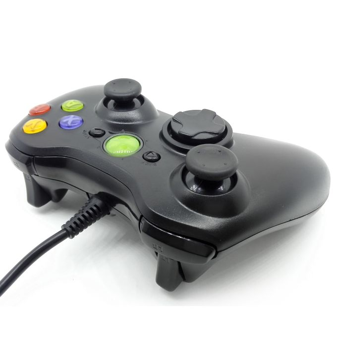 Xbox 360 VODOOL USB Wired Game Handle Controller Joypad Gamepad For Microsoft Xbox 360 For Slim PC Windows Game Pads Accessories DNSHOP   Horezone