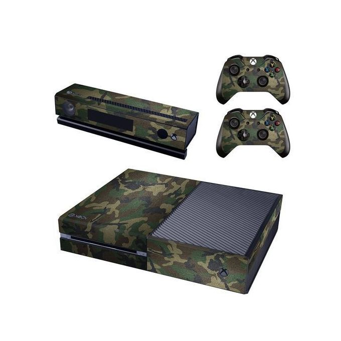 Xbox One Console Skin / Sticker + 2 X Controller Decals & Kinect Wrap - Army Camo XBOX ONE